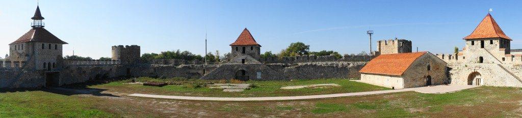 Fästning - borggården
