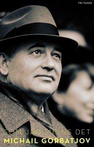 Porträtt av Michail Gorbatjov i hatt