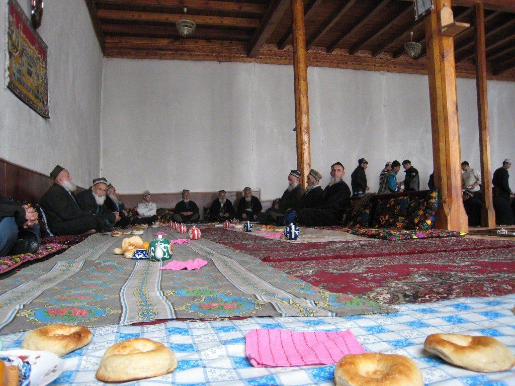Interiör från moské
