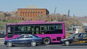 Exteriör brandytillverkaren Ararat i Jerevan