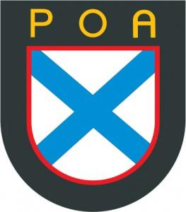 """Den """"Ryska befrielsearméns"""" emblem"""