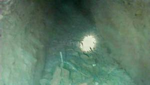Tunneln i Borbalyk som upptäcktes av gränstrupperna i Uzbekistan (foto: Turmush/AKI press)