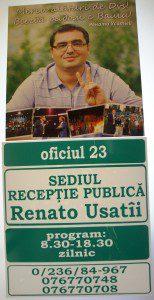 Populär är också Renato Usatii som leder ett ickesocialistiskt Rysslandsvänligt parti (foto: Torgny Hinnemo)