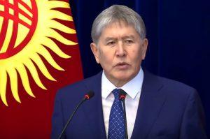 Kirgizistans president Atambajev reagerade surt mot grannladets kulturminister: Det är bättre att vara städerska än en korrumperad minister (klicka på bilden för att se uttalandet på Youtube)