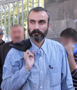 Två höga polischefer har tagits som gisslan i Armenien för att få Jirair Sefilian (bilden) frigiven (foto: Serouj https://commons.wikimedia.org/w/index.php?curid=7933981)