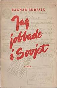 "Bokomslag ""Jag jobbade i Sovjet"""