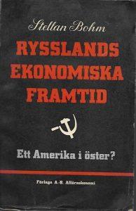 """Bokomslag """"Rysslands ekonomiska framtid"""""""