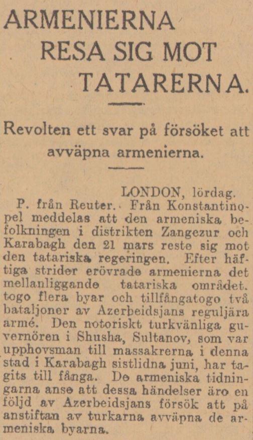 Notis ur Dagens Nyheter